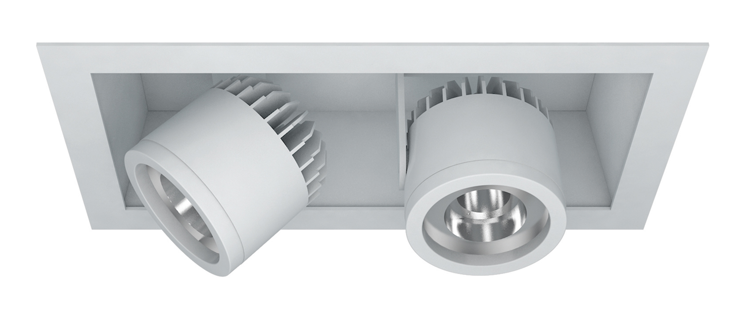 Semi-Recessed – 2 Light