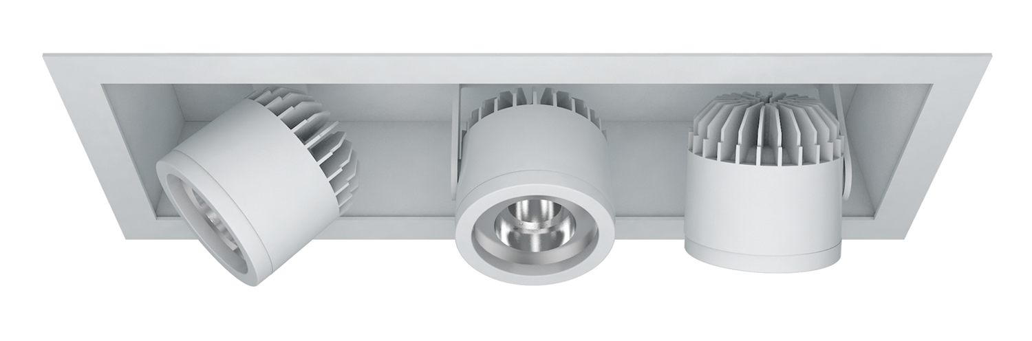 Semi-Recessed – 3 Light