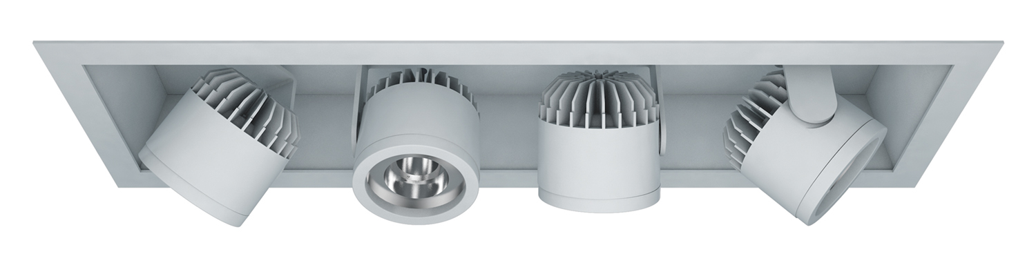 Semi-Recessed – 4 Light