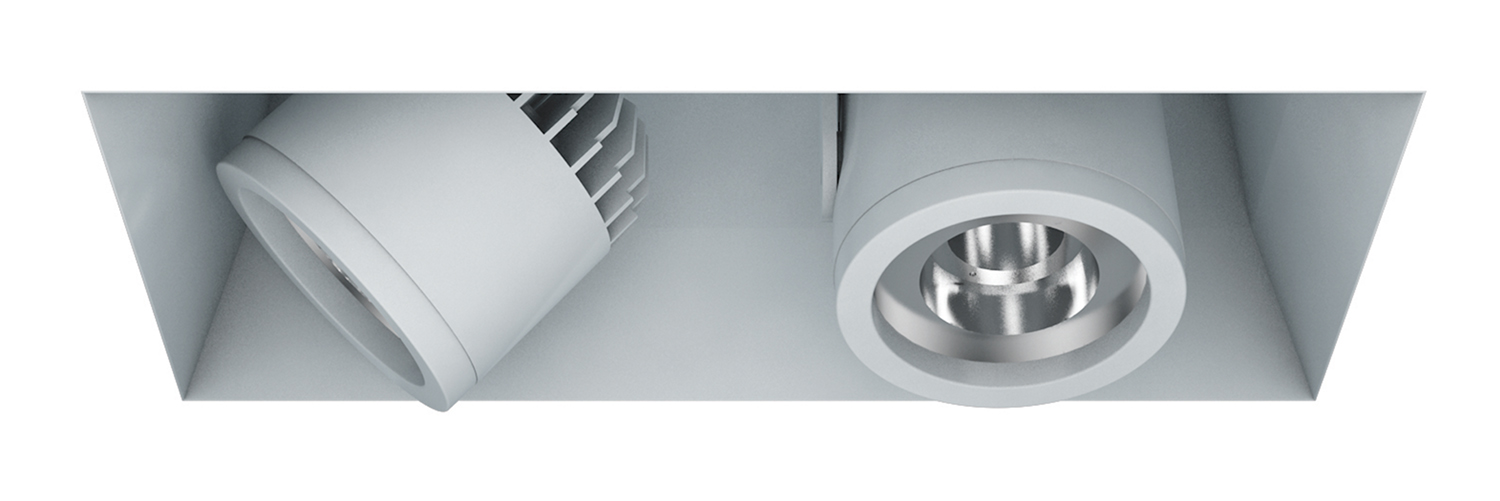 Recessed Trimless – 2 Light